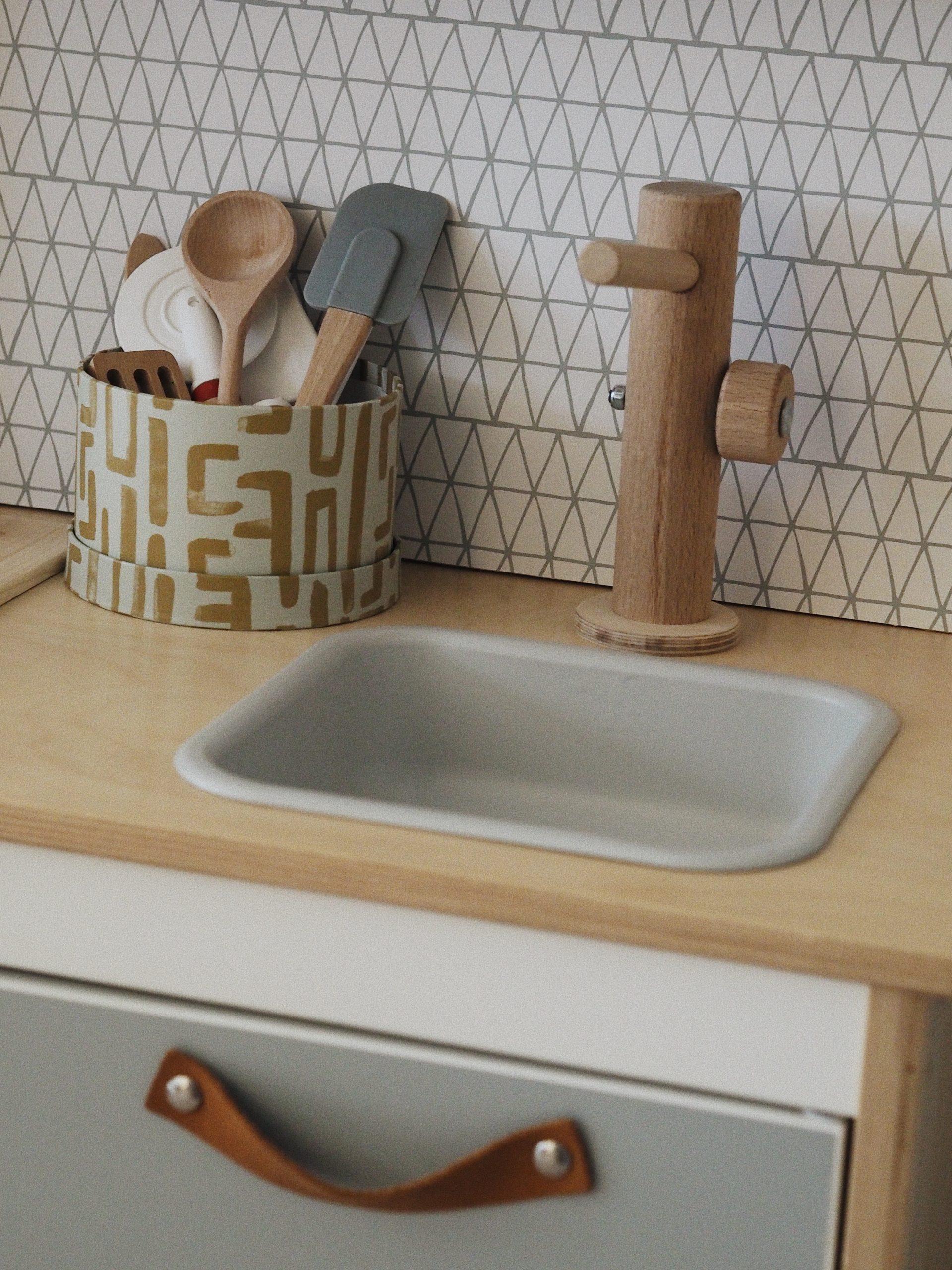 DIY: Ikea Hack Kinderküche Duktig, Holzspielzeug, Holzlebensmittel